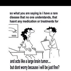"Syringomyelia - How I feel and react to people saying, ""it could be worse."""