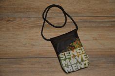 Umhängetaschen - Brustbeutel Sensi Movement braun - ein Designerstück von MelanieStraube bei DaWanda