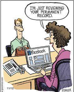32 Most Entertaining Social Media Jokes That are Actually True - bemethis Hr Humor, Tech Humor, Anti Facebook, Facebook Humor, Political Cartoons, Funny Cartoons, Satirical Cartoons, Cartoon Humor, Humor English