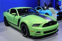 2013 mustang | Gotta Have It Green 2013 Mustang Boss 302