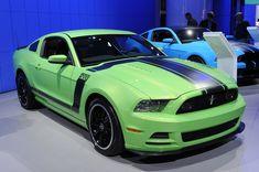 2013 mustang   Gotta Have It Green 2013 Mustang Boss 302