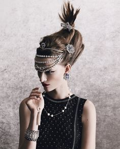 "Emma Oak in ""Jewels in the Crown"" byYuval HenforHow To Spend It,December 2013"