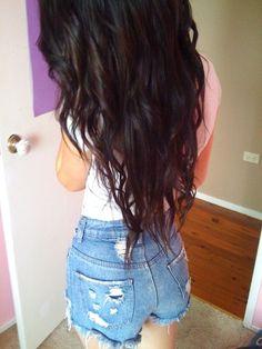 such long hair