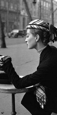 Fashion Vintage Glam | Rosamaria G Frangini | Black & White Old Fashion