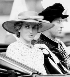 Prince Charles and always lovely Princess Diana