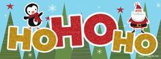 Christmas – Santa / Penguin Ho Ho Ho on http://www.covermytimeline.com