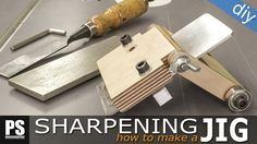 I need to sharpen almost all of my chisels, so I've decided to make this simple sharpening jig to streamline and improve the process.
