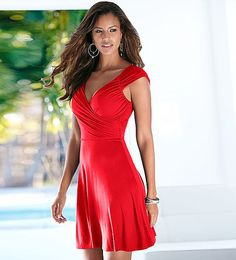 2017 Summer Women Sexy V Neck Sleeveless Dress Lady Solid Knee Length Casual Ball Gown