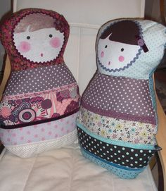 Fabric doll : Just for my girl...