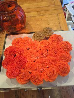 Pull-Apart Cupcakes. Fall. Halloween. Pumpkin.
