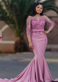 African Party Dresses, African Bridesmaid Dresses, Blush Pink Bridesmaid Dresses, African Lace Dresses, African Fashion Dresses, Black Wedding Hairstyles, Lace Gown Styles, African Lace Styles, Dinner Gowns