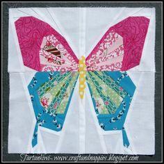 Butterfly Pattern Available Now | Tartankiwi