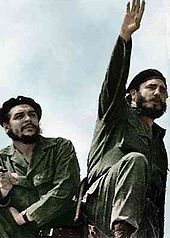 December 2, 1961 – Cold War: In a nationally broadcast speech, Cuban leader Fidel Castro announces he is a Marxist-Leninist, and that Cuba will adopt socialism. Che Guevara (left) and Castro, photographed by Alberto Korda in 196