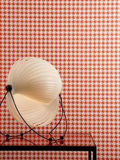 Geometric Wallpaper GABY by Pierre Frey