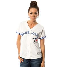 MLB Toronto Blue Jays Majestic Women's 2015 Cool Base Jersey