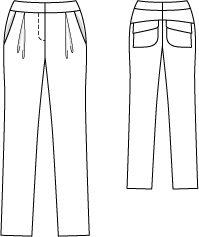 Burdastyle pants