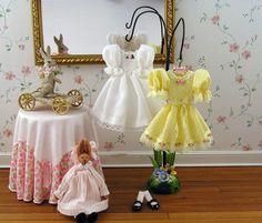 Pretty Little Miniature Girl Dresses