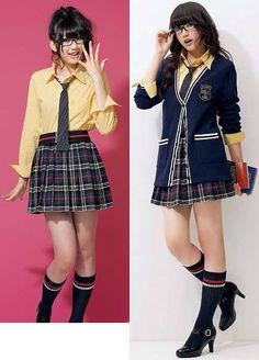 school uniform School Uniform Fashion, Japanese School Uniform, School Uniform Girls, Girls Uniforms, School Uniforms, Japanese Fashion, Japanese Girl, Korean Fashion, Fashion Tv