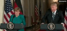 Hilarious...Donald Trump Says He And Angela Merkel 'Have Something In Common' On Wiretapping | The Huffington Post