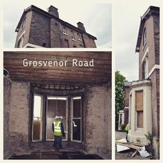 JMA Grosvenor Road gains momentum on site. #renovation #extracare #housing