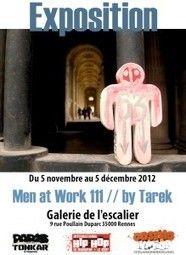 Vernissage exposition Men at Work 111 à Rennes