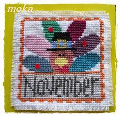 Kramik  Moka: SAL Lizzie Kate - listopad