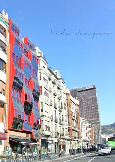 Bilbao. Landscape Vida en furgo, camper life, vida camper, travel blog,