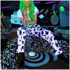 'Shazoo' Pants - Brute Impact Printed Trousers, Trouser Pants, Jogger Pants, Wide Leg Pants, Soft Pants, Loose Pants, Grunge, Hipster, Rave Wear