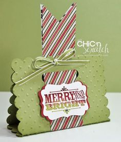 Merry & Bright Treat Holder