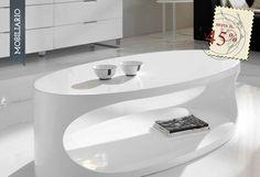 Casa y Lienzo - Blanco brillante