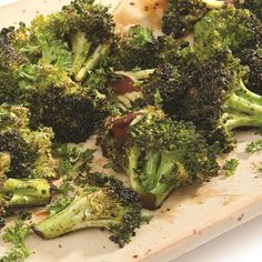 Crisp on the edges and tender within, grilled broccoli is a family favorite.
