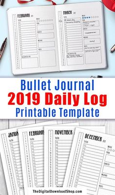 247 Best Daily Planners images in 2019 | Health planner