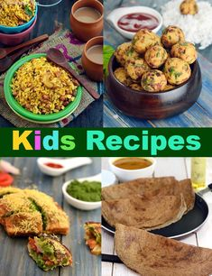 Recipes for kids : samosa, pasta in red sauce, poha dhokla, atta biscuit, p Kids Cooking Recipes, Baby Food Recipes, Gourmet Recipes, Vegetarian Recipes, Healthy Recipes, Cooking Games, Cooking Corn, Cooking Turkey, Cooking Classes