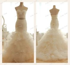 Best Selling Mermaid style Sweetheart Gorgeous by longfeng2013, $170.05