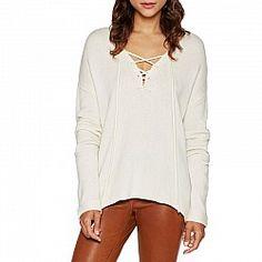 Joie Larken Lace-Front Wool Sweater Envy 57afe068a