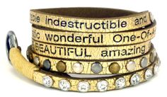 CYBER MONDAY - $10 off Good Works You Are Beautiful Bracelets!
