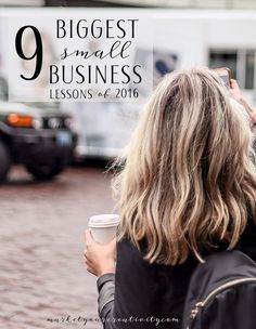 As this is my sixth (and most profitable) year in online business, these are by far the biggest small business lessons I've ever shared. I've gone from a hobbyist's income to hitting the six-figure mark twice in one year. Here's what I learned in 2016 … #1 Trust the business to provide I post my biggest small business lessons each year, and this one's a recurring theme. In last year's post this lesson was subtitled, You are 100% deserving. I wrote, You [Continue Reading] #onlinebusiness…