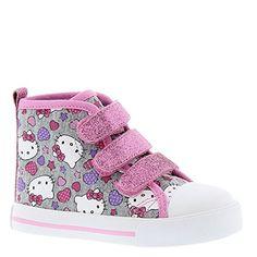 3c25523ce Hello Kitty Hk Lil Harper Girls' Infant-Toddler Oxford 10 M US Toddler Grey