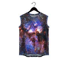 Milky Way Galaxy réservoir rayures réversibles par Shadowplaynyc