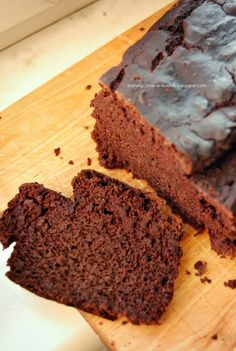 My Diet fad: Chocolate - banana cake with beans Snack Recipes, Healthy Recipes, Snacks, Healthy Food, Brownie Cake, Brownies, Gluten Free Cakes, Sans Gluten, Clean Eating