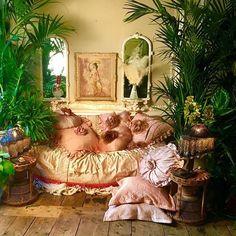 Sera of London sofa and cushions.