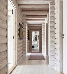 Here's a new, modern spin on rustic cabin style. House, Home, Log Cabin Exterior, Modern House Design, Modern Cabin, Log Cabin Rustic, How To Build A Log Cabin, Log Cabin Remodel, Rustic House
