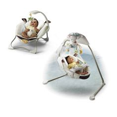 Fisher Price - My Little Lamb Swing and Bouncer Set