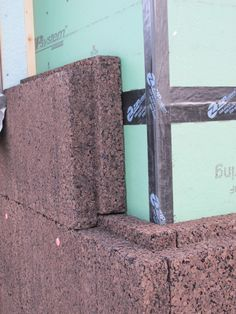 Cork insulation over ZIP sheathing on Vermont farmhouse--an ideal high-performance system!