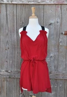 Blazing Silk Dress, $74, Perfect for Valentine's Day.