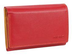 Damen-Überschlagbörse (rot) - M17703RE