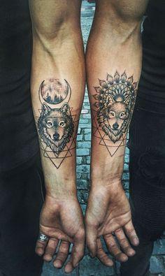 100 Meilleures Images Du Tableau Tatouages De Loup Tattoos Of