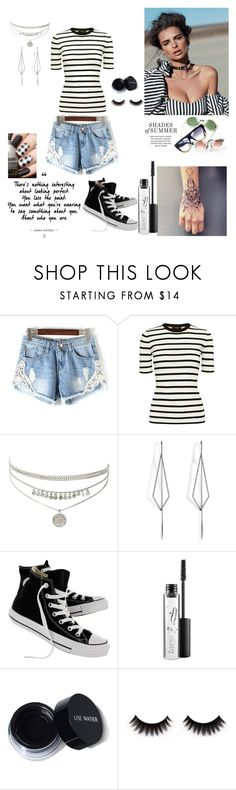 """""""Bez naslova #181"""" by selma-97 ❤ liked on Polyvore featuring Theory, Diane Kordas, Converse and MAC Cosmetics"""