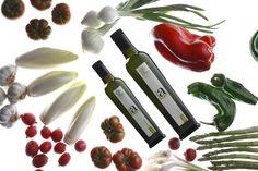 Desarrollo , imagen corporativa para los aceites Deortega Garlic Press, Oil