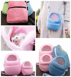 Details about Rat Hamster Chinchilla Rabbit Ferret Hedgehog Outgoing Packet Bag Hanging Bed (Other c Hamster Care, Hamster Toys, Rat Toys, Baby Hedgehog, Hedgehog Pet Cage, Chinchilla Baby, Les Rats, Chinchillas, Hedgehogs